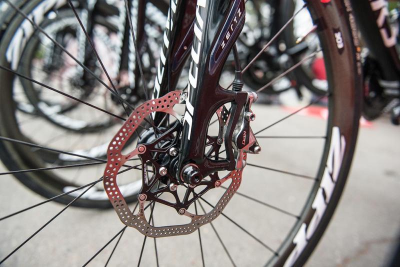 Регулирование тормозных дисков на велосипеде