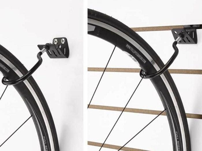 Установка крепежа для велосипеда