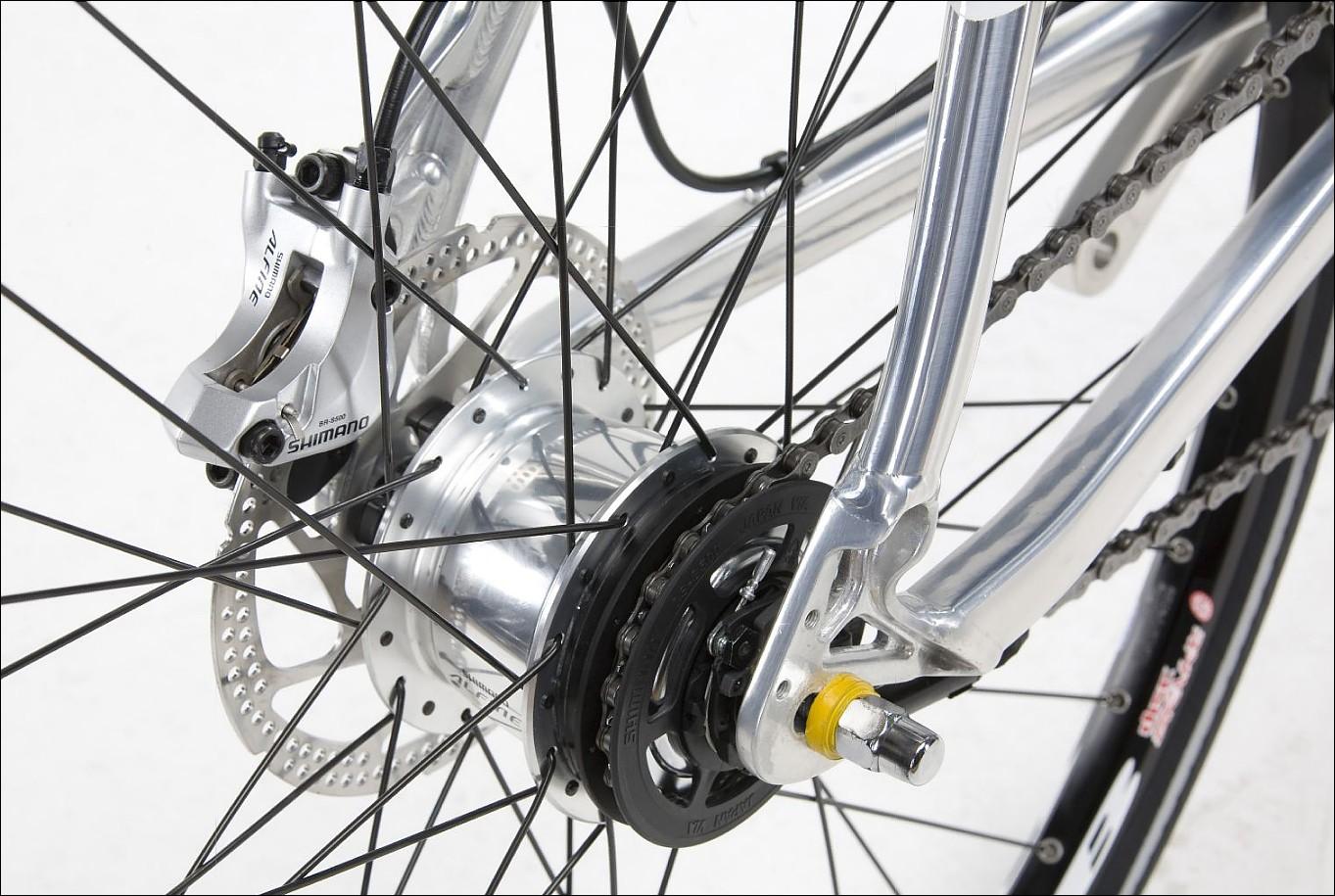 Велосипеді с планетарной втулкой