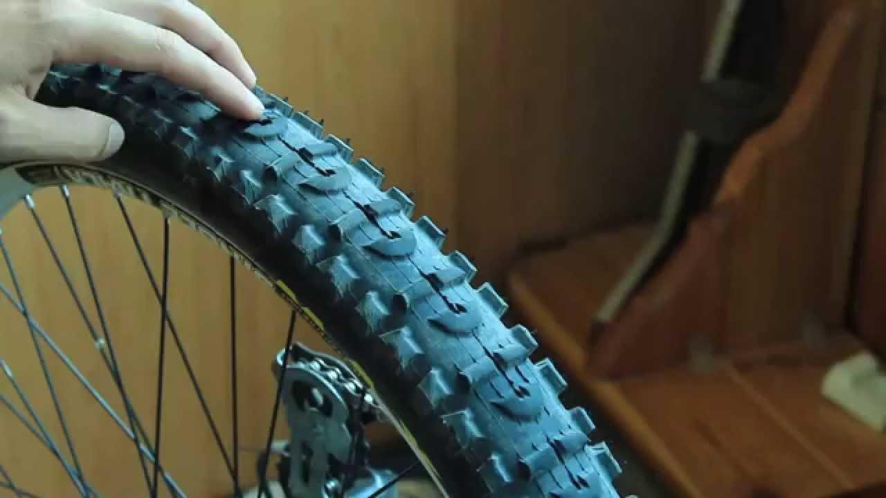 Монтаж ленты на велосипед