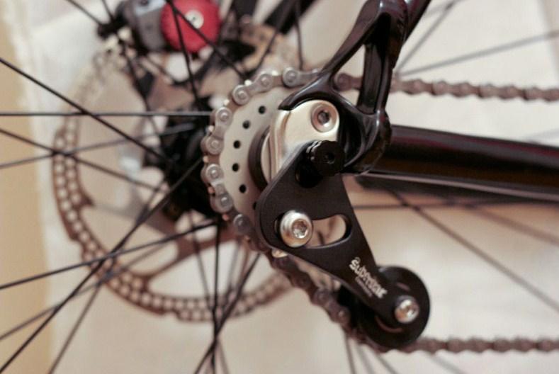 Натяжка цепи на обычном велосипеде
