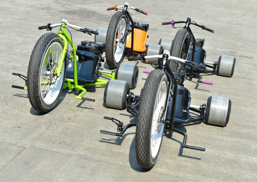 Велосипеды для дрифта Big Wheel Drift Trike