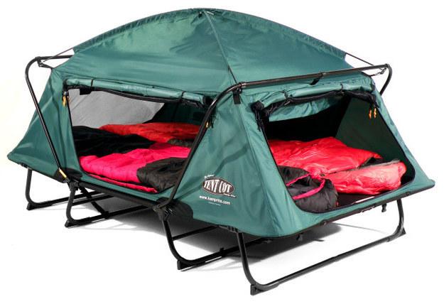 палатка-раскладушка удобства для двоих