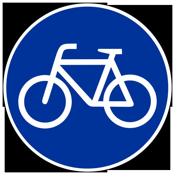 Знак для велосипедиста