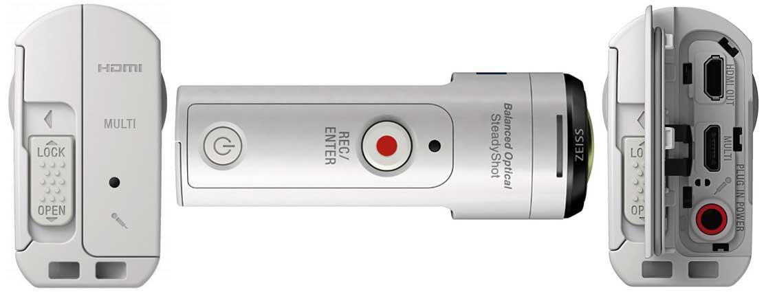 Sony FDR x3000 ракурс