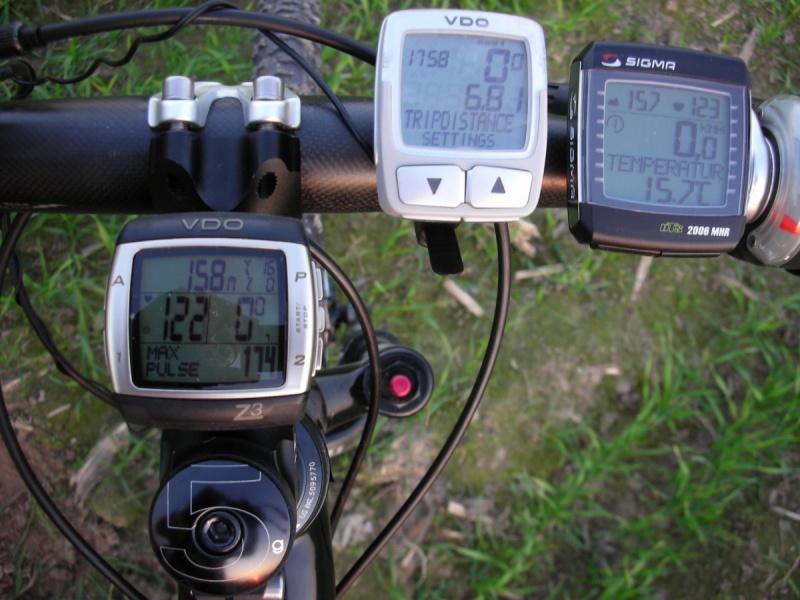 Настройка часов на велокомпьютере