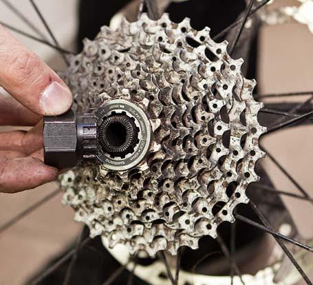 Съемник кассеты велосипеда