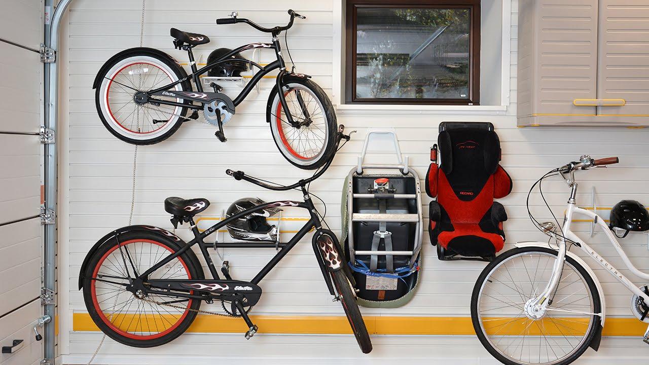 Правильное хранение велосипеда