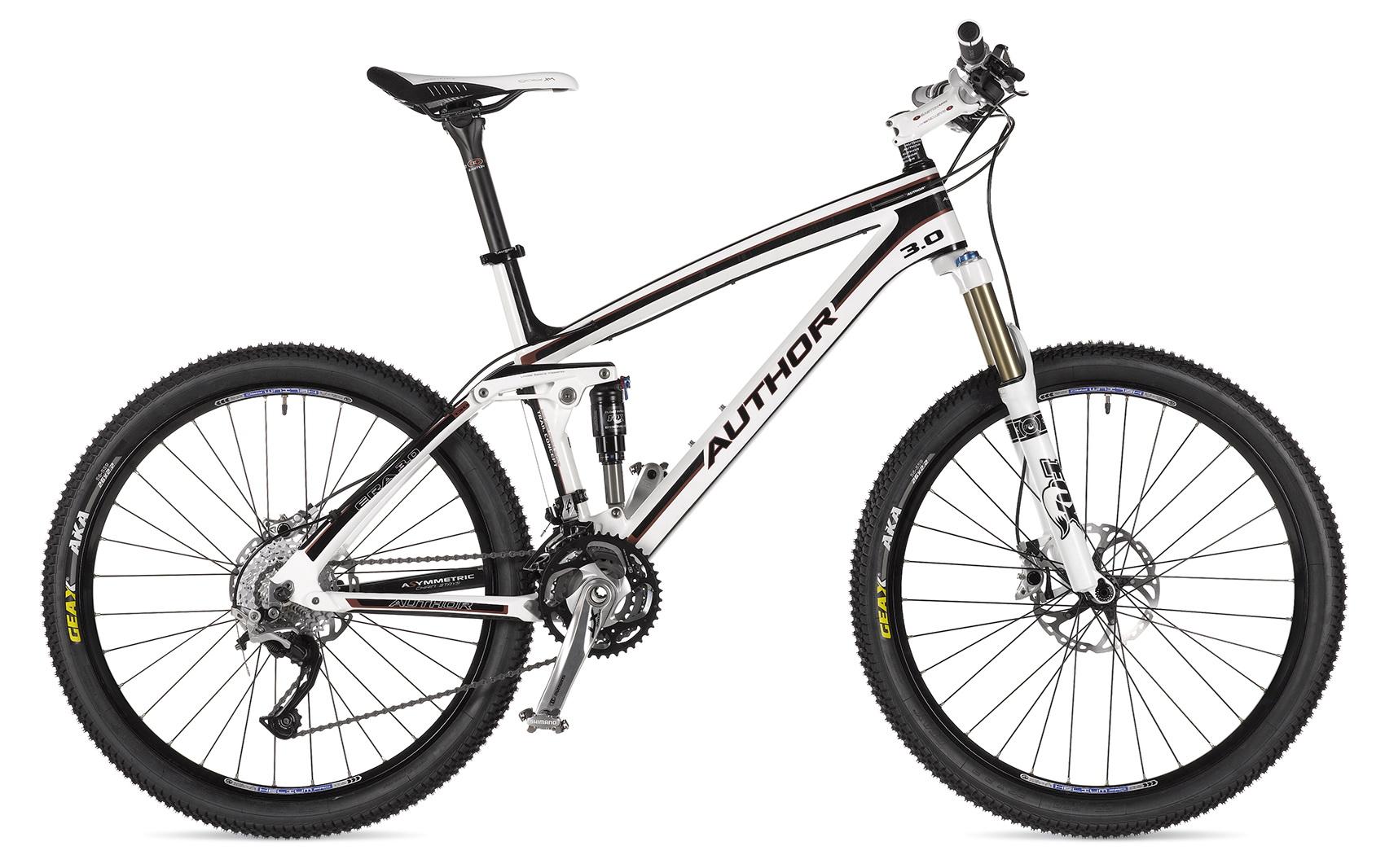 Выбор двухподвесного велосипеда