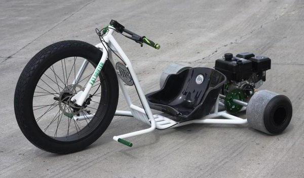 Велосипед для дрифта с мотором