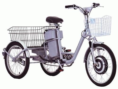 Электровелосипед двухколесный