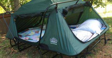 палатка-раскладушка для двоих
