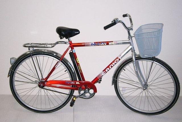 Велосипед Салют советский