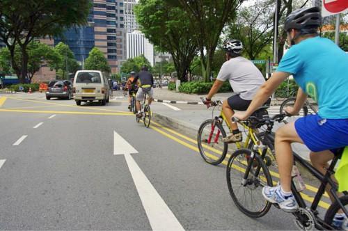 Правила езды на велосипеде для школьников: пересечение перекрестков