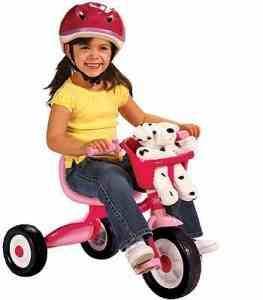 учим детей кататься на велосипеде