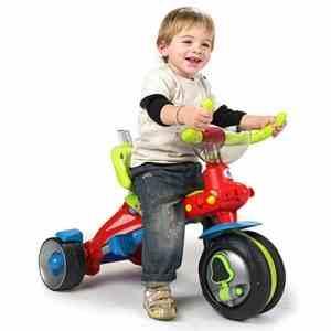 детский велосипед с широкими колесами