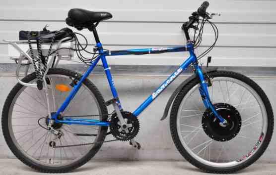 Переднеприводный велогибрид