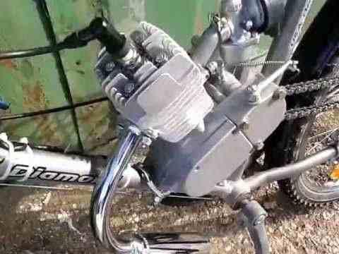 Двигатель на велосипед