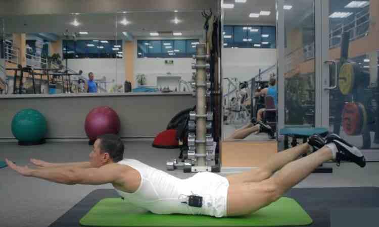 Комплекс упражнений для правильной осанки