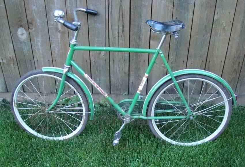 Велосипед марки Школьник