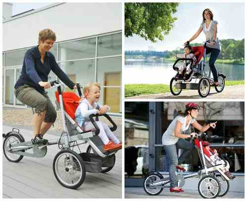 Велосипед-коляска Taga Bike/Stroller
