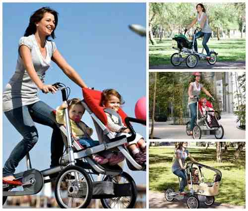 Коляска-велосипед трансформер Taga Bike/Stroller
