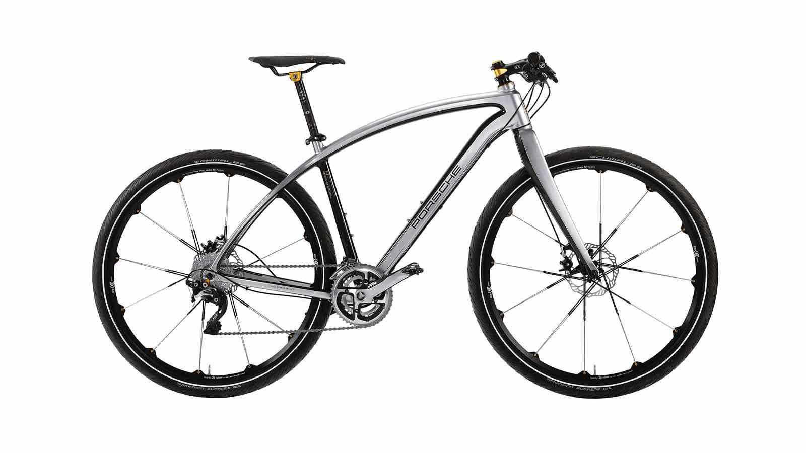 Велосипед Porshe RS с 20-ступенчатой трансмиссией
